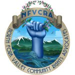 Logo for North Fork Valley Community Rights Advocates of Delta County Colorado